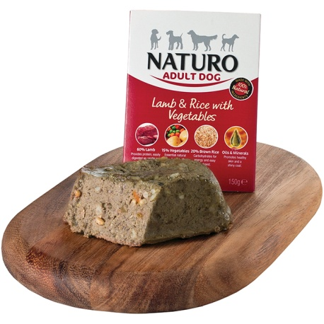 Naturo Dog Adult Cordero y Arroz