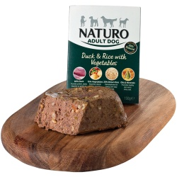 Naturo Dog Adult Pato y Arroz