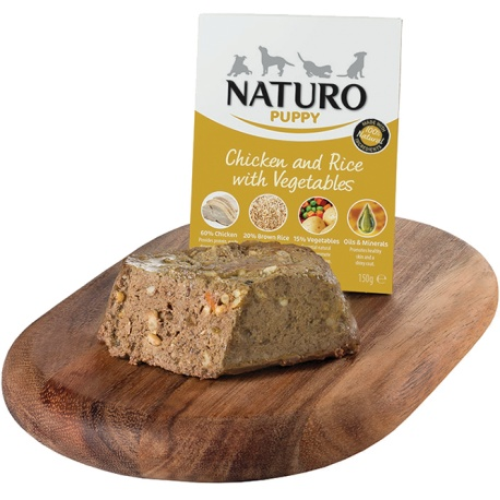 Naturo Dog Puppy Pollo y Arroz