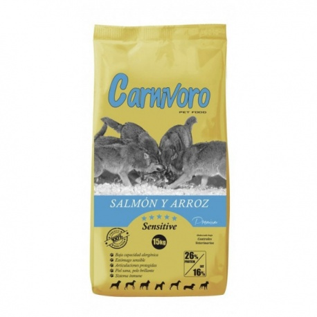 Carnívoro Sensitive Salmón y Arroz