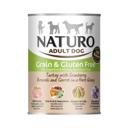 Naturo Dog Pavo y Vegetales - Grain Free