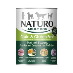 Naturo Dog Pato y Vegetales - Grain Free