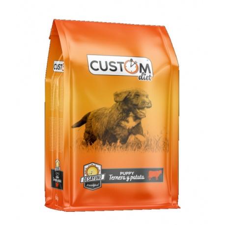 Custom Diet Puppy Ternera y Patata Desayuno - Pienso para Cachorros