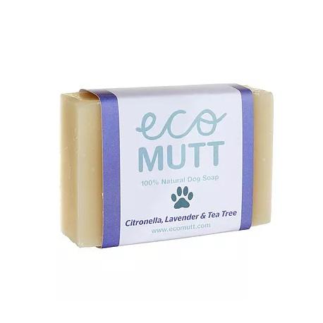 Eco Mutt Pastilla de jabón con Citronela, Lavanda y Te Verde