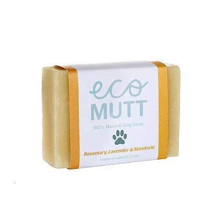 Eco Mutt Pastilla de jabón con Romero, Lavanda y Mandarina