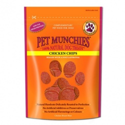 Pet Munchies Chips de Pollo Natural