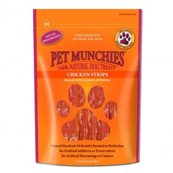 Pet Munchies Tiras de Pechuga de Pollo