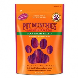 Pet Munchies Filetes de Pechuga de Pato
