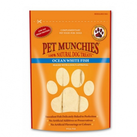 Pet Munchies Tiras de Pescado Blanco