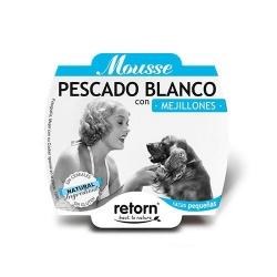 Retorn Mousse Pescado Blanco con Mejillones