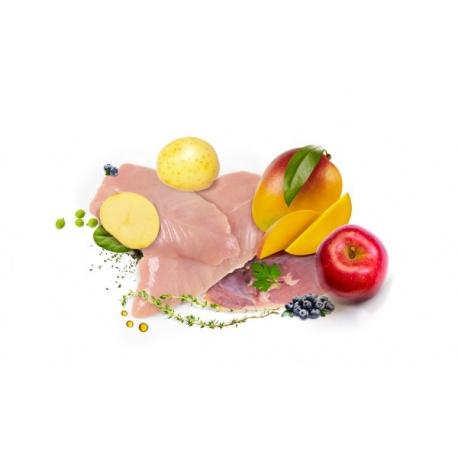 Dibaq Sense Holistic Pollo y Pato Ingredientes