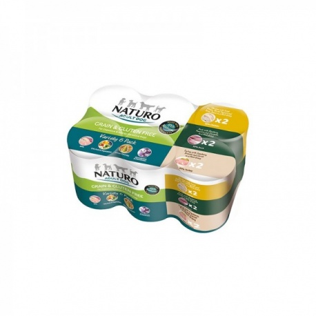 Multipack Latas Naturo 3 Sabores - Grain Free