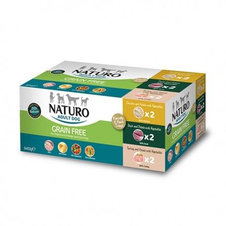 Naturo Mutipack Tarrinas 3 Sabores - Grain Free