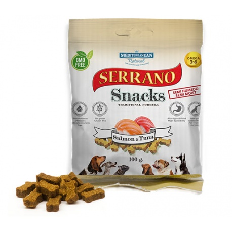 Serrano Snacks Salmon y Atun - Contenido