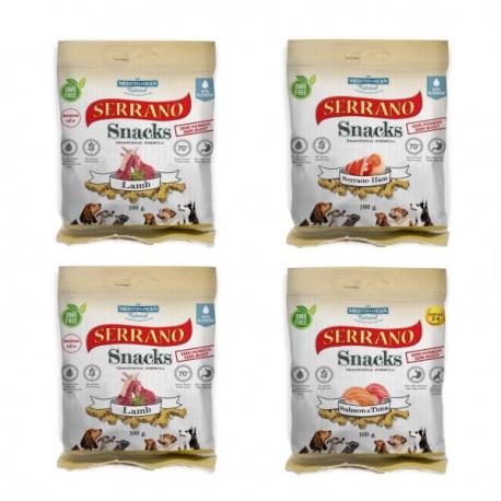 Pack Degustacion Serrano Snacks 4 Sabores