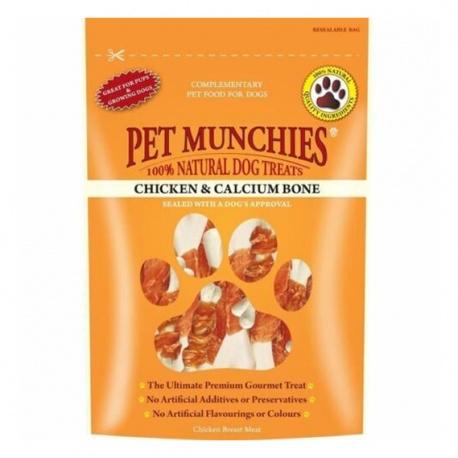 Pet Munchies Pollo y Huesos de Calcio